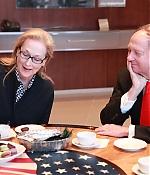 66th Berlin Film Festival Meryl Streep visits US Embassy, 16.února 2016, Berlin, Gemany
