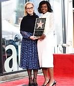 Viola Davis' Hollywood Walk Of Fame Ceremony, 5.ledna 2017, LA, USA