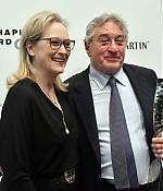44th Chaplin Gala Honoring Robert De Niro, 8.května 2017, New York, USA