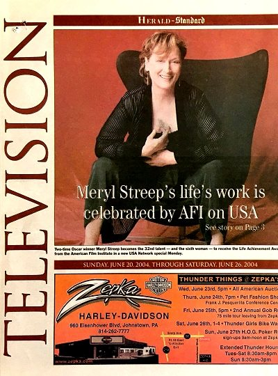 Simply Streep – The Meryl Streep Archives » The Herald